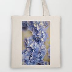 Rhapsody in Blue Tote Bag by Fiona & Paul Photography and Digital Art - $18.00