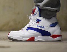 #Reebok Pump Court Victory Blue/Red #sneakers