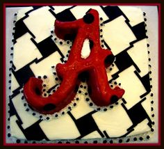 Bama cake!  RTR