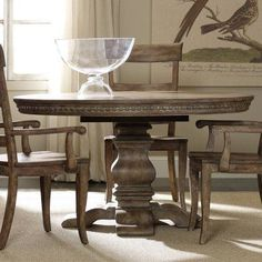 Jofran Booth Bay Round Pedestal Dining Table  Walmart Gorgeous Dining Room Tables Walmart Design Inspiration