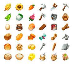 Items for Farm by Anastasia Chechneva, via Behance