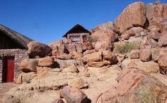"""Majestic boulders guarding this tranquil lodge near the Fish river canyon """"We are Namibians who visited the South of Namibia and traveled extensively."""
