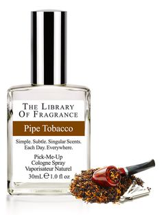 Pipe Tobacco Cologne – Extraordinary scent & perfume from The Library of Fragrance – The Library of Fragrance