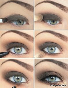 Evening makeup gives you more space to experiment with your look. You can use darker colors, false eyelashes and just more of everything. #Night_Makeup #Makeup #Makeup_Tutorials #Eye_Makeup