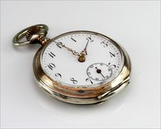 Jewelry & Watches Pocket Watches 2019 Latest Design Lot Of Antique Gold Filled Silveroid Pocket Watch Movement Case Crowns Parts Beautiful And Charming