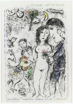 Marc Chagall | Souvenance d'un printemps | Images d'Art