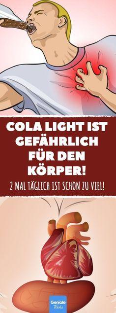Cola light ist gefährlich für den Körper! #gesundheit #studie #light #cola #coke #softdrink #süßstoff #aspartam #herzattacke #herz-kreislauf