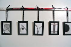 Here is a creative way to display DAVID in hockey themed Alphabet Art using a hockey stick and laces!  The letters can be ordered through www.kathystanczak.ca