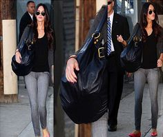 2c9d156ffa5e megan fox loves the lola tote for its stylish look it goes perfectly megan  fox celebrity style and fashion
