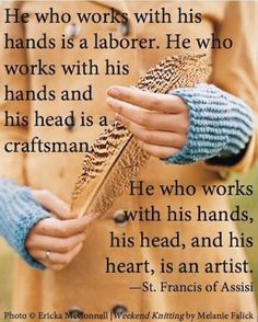 Waldorf education teaches the head, heart, and hands. We create artists! #handwork #bellalunatoys #waldorfeducation #stfrancis #art #crafts #crafting