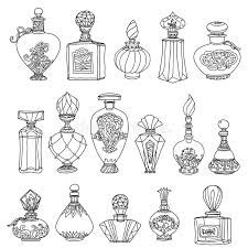 Resultado De Imagem Para Desenhos De Vidros De Perfumes Retros E