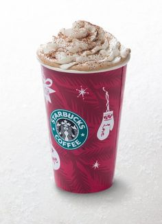 Starbucks Eggnog Latte Recipe-this totally made me think of jeff because of the eggnog! that boy looooves some eggnog :)