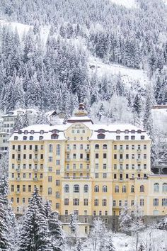 Abandoned Hotels of Bad Gastein