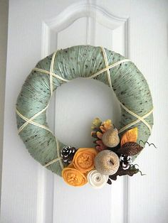 Thanksgiving Wreath? @Dawn Stinchcomb-Wade