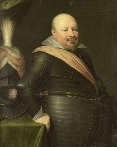 atelier van Jan Antonisz. van Ravesteyn, Portret van Nicolaas Schmelzing (1561-1629), in of na 1611 - Rijksmuseum Amsterdam