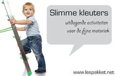 Slimme kleuters: 5 activiteiten voor de fijne motoriek - Lespakket - thema's, lesideeën en informatie - onderwijs aan kleuters