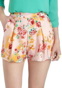 Cute printed shorts