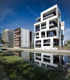 42 logements montreuil logements collectifs pinterest. Black Bedroom Furniture Sets. Home Design Ideas