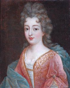 Portrait of a Lady in a Pink Dress by French School, ca France, the Bowes Museum It's thought that this might be a daughter of Louis XIV, but it's unclear because simple backgrounds are unusual for royal portraits. National Gallery Of Art, National Portrait Gallery, Louis Xiv, 17th Century Fashion, 18th Century, Ludwig Xiv, Bourbon, Giovanni Boldini, French History