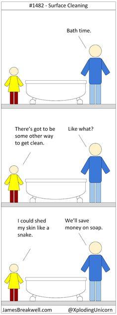 That just might work. Bad Comics, Funny Comics, Funny Tweets, Funny Memes, Jokes, Stupid Funny, Hilarious, Funny Pins, Haha