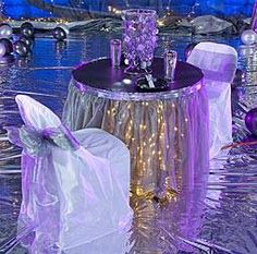 BLING TABLE SETTING