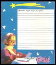 Chabel - Catálogo/ Carta a los Reyes Magos