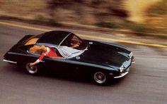 """asaucerfulofwheels:  1966 Lamborghini 400GT 2+2 ""Faster, faster.""   """