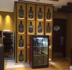 Decoración bar El Consistorio Pizarras gastronomía