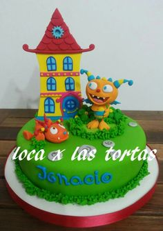 #henry #monstruito #cake