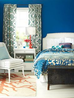counteract colors could i get any sleep in a room with such bold walls - Bold Bedroom Colors