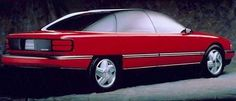 OG | 1991 Oldsmobile Achieva Four-door | Fiberglass Model. It was a 2-door on one side and a 4-door on the other.
