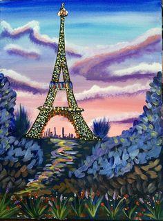 """Cynthia R. """"Arte, don y pasión"""": La torre Eiffel/Eiffel Tower"""