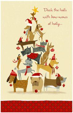 Deck the Halls Greeting Card - Christmas Printable Card | American Greetings