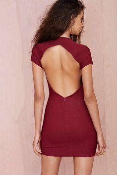 Nasty Gal Sharp Cuts Dress | Shop Sale at Nasty Gal