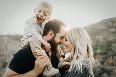 Happy, little family.