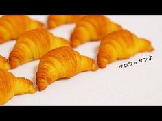 *スイーツデコ*粘土で作るクロワッサン - YouTube