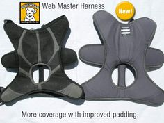 Check out the Webmaster Tripawd harness comfort improvements!