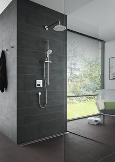 Shower Wall Options For Your Next Bathroom Renovation Bathroom Decor With so many types of shower walls out there on the market, deciding which one will work best for your bathroom will certainly be an important decisio. Next Bathroom, Bathroom Goals, Bathroom Renos, Bathroom Renovations, Bathroom Interior, Bathrooms, Basement Bathroom, Small Bathroom, Bathroom Ideas