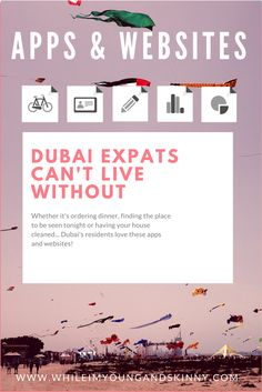 Apps and websites for Dubai life. New expats in Dubai and first time visitors alike need to check this out for money saving tips in Dubai, life hacks and how to find the best places to eat, sleep and party in Dubai.