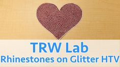 89502465d9e6f How to layer Glitter HTV and Rhinestones to Make a Car Decal with Bling .