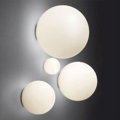 You can't get more unique and chic than this set of globular luminaries.  Perfect on your patio wall, they provide tons of light while adding elegance to any decor. Starting around $300.