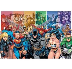 Justice League Poster Gerechtigkeitsliga. Hier bei www.closeup.de