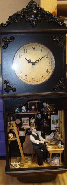 Clock Shop in a Clock