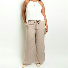 Pabts Super soft taupe colored dress pants Pants Trousers
