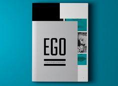 Inspiração Editorial: Publicação Ego - Inspire-se na diagramação da publicação Ego, que além da simplicidade da utilização de cores e ótima composição, distribui alguns cortes diferenciados no meio do trabalho que dão um toque bem especial.