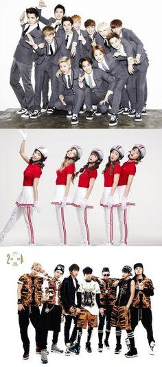 Several rookie groups won awards at the 28th Golden Disk Awards! #EXO #CrayonPop #BTS #BangtanBoys #kpop