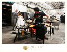 #duncanmcclellangallery #stpetersburg #florida #wedding #weddingphotography #limelightphotography #stepintothelimelight #bride #groom #husband #wife #glassart #glassblowing