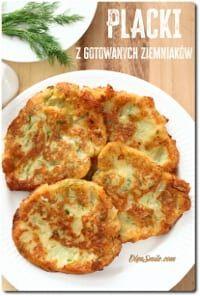 PLACKI Z GOTOWANYCH ZIEMNIAKÓW Polish Recipes, Baked Potato, Quiche, Cauliflower, Vegan Recipes, Food And Drink, Gluten Free, Favorite Recipes, Snacks
