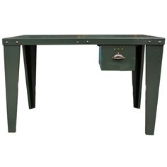 1930s English Industrial Table