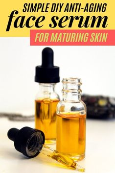 Face serum DIY for natural anti aging skin care with essential oils. Learn how to make a natural effective anti aging facial serum recipe to care for your maturing skin - plus it fights acne & helps prevent eczema. Formulated with natural plant based ingr Homemade Skin Care, Diy Skin Care, Homemade Beauty, Homemade Products, Anti Aging Skin Care, Natural Skin Care, Natural Beauty, Natural Oils, Face Serum Diy